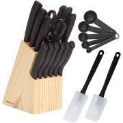 walmart kitchen knives miracle blade iii 17 knife set walmart com