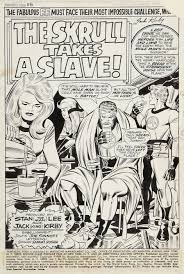 fantastic 90 1 jack kirby original art pages