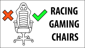 Cloud 9 Gaming Chair The Problem With Racing Gaming Chairs Youtube