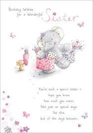elephant birthday wishes sister birthday card funky pigeon