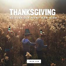 thanksgiving scavenger hunt for imom