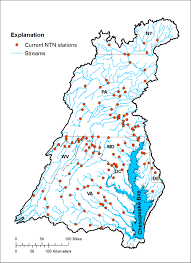 Chesapeake Bay Map Changes In Streamflow And Water Quality In Selected Nontidal