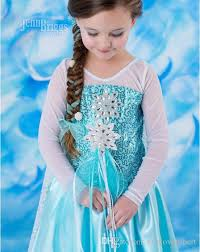 frozen costumes elsa costume frozen princess elsa dress frozen costume children