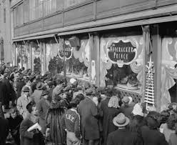 the real history of thanksgiving the history of department store holiday window displays zady com