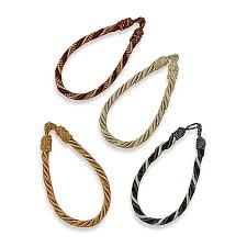 Rope Curtain Tie Back Chenille Rope Window Curtain Tie Back Bed Bath Beyond
