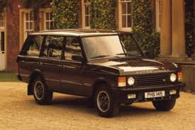 Classic Range Rover Interior History Of The Range Rover