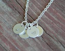 Personalized Charm Necklaces Sentimental Necklace Etsy
