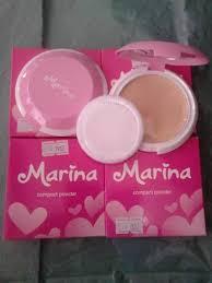 Bedak Marina jual marina compect powder dzakirah cosmetic