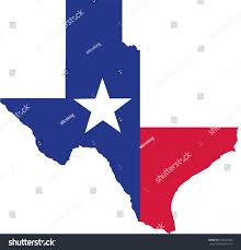 State Map by Texas State Map Flag Stock Vector 528437083 Shutterstock