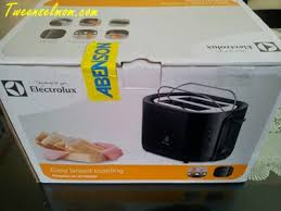 Toaster Box Unboxing An Electrolux Bread Toaster Tweenselmom Mommy Blogger