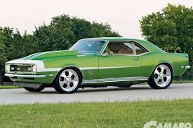 green camaro ss 1968 chevy camaro ss camaro performers magazine