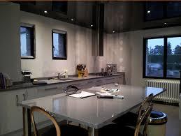spot plafond cuisine plafond tendu avec spot plafonds modernes de bretagne