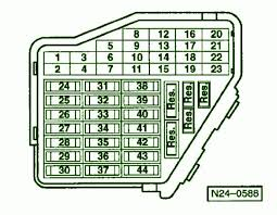 2003 volkswagen passat arrangement fuse box diagram u2013 circuit