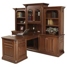 Lexington Partner Desk LEX Amish Oak Office Furniture - Lexington office furniture