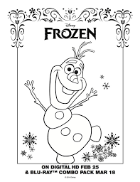 disney frozen coloring pages olaf holiday coloring disney
