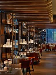 elegant italian restaurant il lago dei cigni designed by the