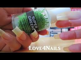 grow long natural nails super greens pro fx review youtube