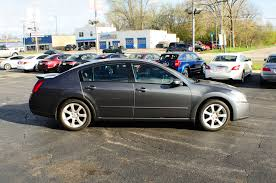 maxima nissan 2007 2007 nissan maxima se gray sedan used car sale