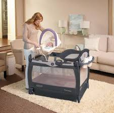 Grayson Mini Crib by Graco Pack U0027n Play Playard With Cuddle Cove Removable Vibrating