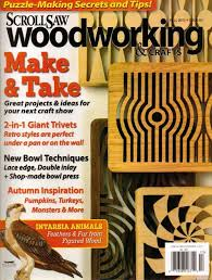 Woodworking Magazine Download by Scrollsaw Woodworking U0026 Crafts 60 Fall 2015 Download