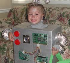 Robot Halloween Costume Toddler Robot Costumes Wires Circuit Boards Halloween Costumes