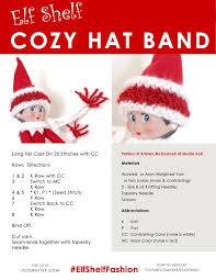 how to knit elf shelf cozy doll hat band studio knit