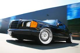 mercedes classic modified old skool tuning 1983 mercedes benz 560se with 386hp by inden design