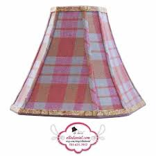 plaid l shades tartan chandelier lshade shade 4