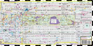 Miami Design District Map by Streetwise Midtown Manhattan Map Laminated City Street Map Of