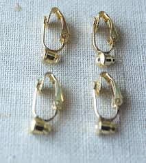 how to make clip on earrings comfortable clip on earring converter studs to clip on earrings changer