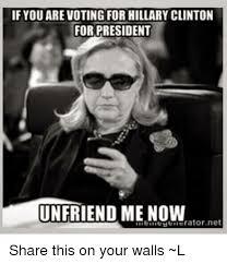 Hillary Clinton Sunglasses Meme - 25 best memes about hillary or trump hillary or trump memes