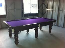 purple felt pool table npc pool table 8ft classic