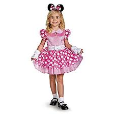 Mouse Halloween Costume Toddler Amazon Minnie Mouse Deluxe Toddler Costume Toys U0026 Games