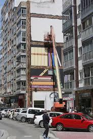 El Mural by Grandmontagne Se Asoma A Sus Dominios Burgos El Correo De Burgos