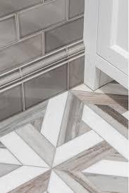 Grey Mosaic Bathroom Bathroom Reno With Grey Subway Tile Home Bunch U2013 Interior Design