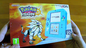 nintendo 2ds black friday 2017 unboxing nintendo 2ds pokemon sun special edition youtube