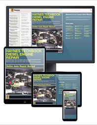 Ford Diesel Truck Manuals - diesel engine repair haynes online techbook haynes manuals