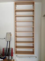simple wooden wall hanging for shoe storage ideas popular home