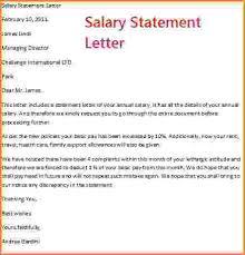 11 salary details letter format simple salary slip