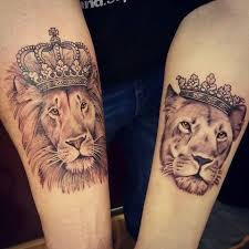 finger tattoo lioness matching lion tattoos clipart library