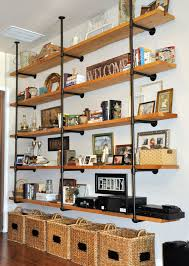 Industrial Pipe Bookcase Best 25 Pipe Bookshelf Ideas On Pinterest Industrial Media