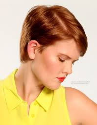 short haircuts red hair hair style and color for woman