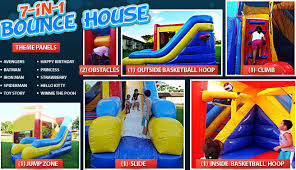 party rentals miami bounce house rentals in miami fl s party rental