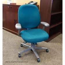 desk chairs worcester blue leather office chair faux miller desk