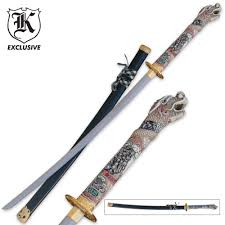 Katana Kitchen Knives Display Swords Budk Com Knives U0026 Swords At The Lowest Prices