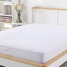 amazon com queen size mattress pad protector premium waterproof