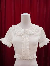 blouse ruffles blouses shirts white blouses black loli