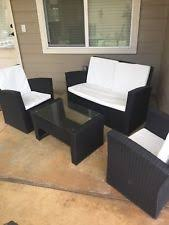 Heavy Duty Patio Furniture Sets Used Outdoor Furniture Ebay