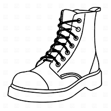outline of a shoe free download clip art free clip art on