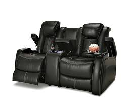 home theater seating row of 2 lane recliner gaming chair footrest